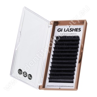 D 0.15-12 mm-KASHMERE Lashes-Metoda 1:1