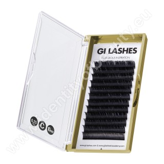 C 0.15-10 mm-KASHMERE Lashes-Metoda 1:1