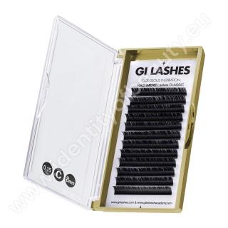 C 0.15-8 mm-KASHMERE Lashes-Metoda 1:1