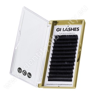 C 0.15-11 mm-KASHMERE Lashes-Metoda 1:1