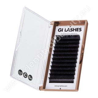 C 0.15-13 mm-KASHMERE Lashes-Metoda 1:1