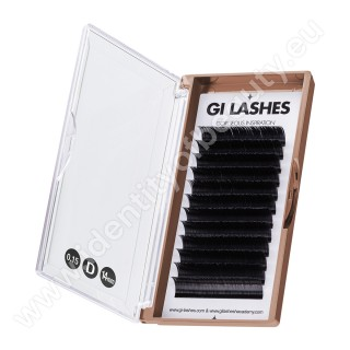D 0.15-14 mm-KASHMERE Lashes-Metoda 1:1