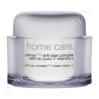 Krém anti-age complex s retinolom + vitamínom C / Crema viso anti-age complex retinolo puro + vitamina C